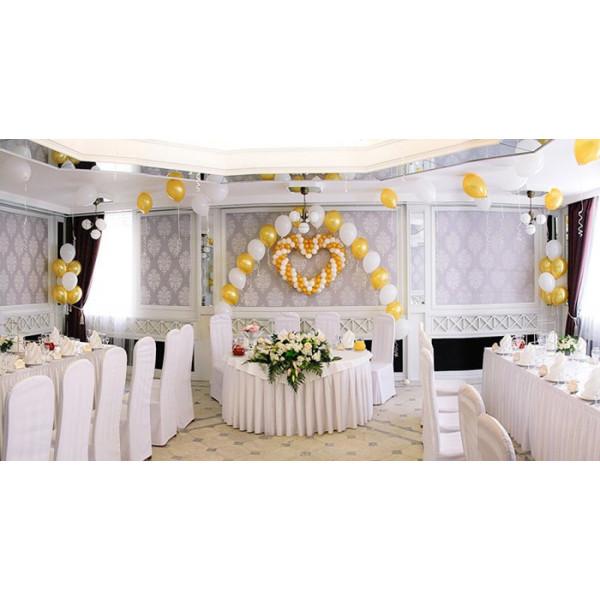 Оформление свадьбы шарами №1