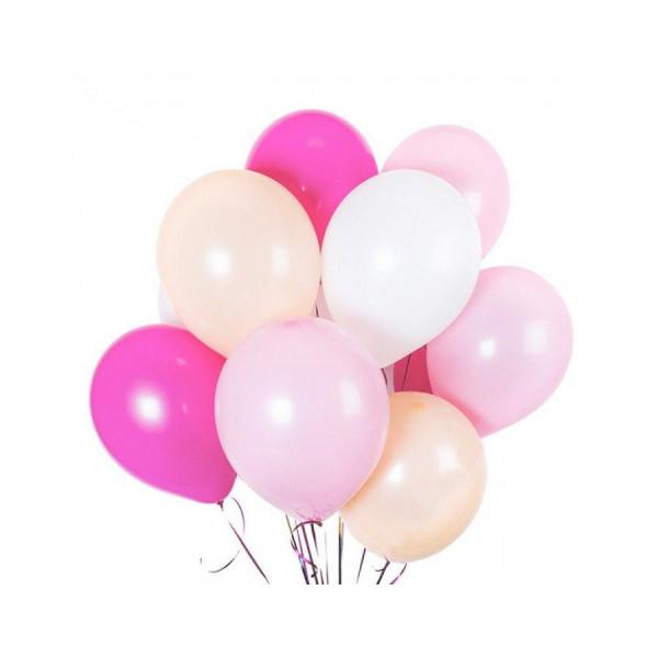 """Набор шаров  """"Розовое облако, 15 шт."""""""